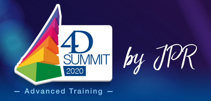 4D Summit 2020 - Advanced Training by JPR – NEW and FINAL dates