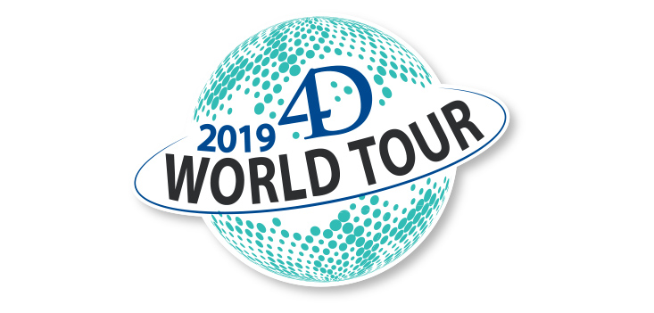 4D World Tour - Registrations are open